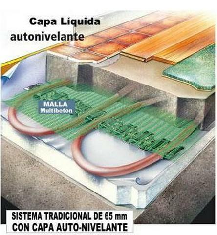 Suelo radiante autonivelante suelo radiante sistemas - Suelo radiante frio ...